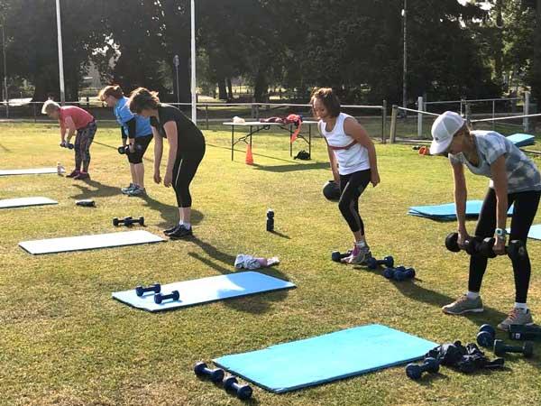 Members of Wild Stride Fitness Heidelberg Park & Ivanhoe Park