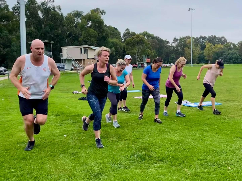 Members of Wild Stride Fitness Ivanhoe Park